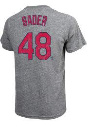 Harrison Bader St Louis Cardinals Grey Road Player Short Sleeve Fashion Player T Shirt