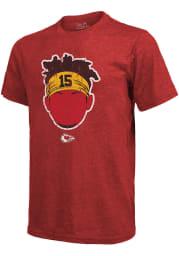 Patrick Mahomes Kansas City Chiefs Red Headband Short Sleeve Fashion Player T Shirt