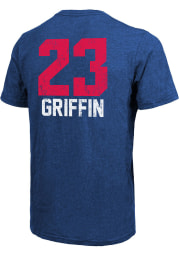 Blake Griffin Detroit Pistons Blue Aldo Short Sleeve Fashion Player T Shirt