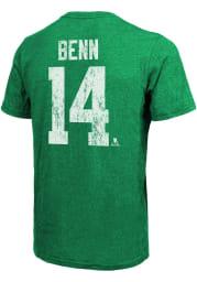 Jamie Benn Dallas Stars Kelly Green Primary Player Short Sleeve Fashion Player T Shirt