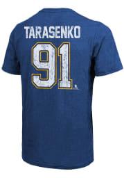 Vladimir Tarasenko St Louis Blues Blue Primary Player Short Sleeve Fashion Player T Shirt
