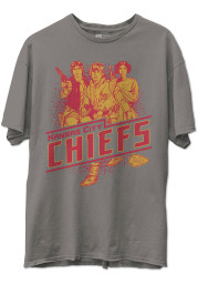 Junk Food Clothing Kansas City Chiefs Grey Star Wars Rebels Short Sleeve Fashion T Shirt