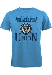 Philadelphia Union Light Blue Established Short Sleeve Fashion T Shirt