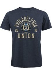 Philadelphia Union Navy Blue BALL HOG Short Sleeve Fashion T Shirt
