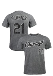 Todd Frazier Chicago White Sox Grey Distressed Short Sleeve Fashion Player T Shirt