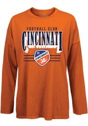 FC Cincinnati Womens Orange Bernard LS Tee