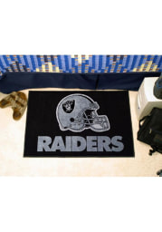 Las Vegas Raiders 19x30 Starter Interior Rug