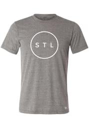 Arch Apparel St Louis Grey Circle Short Sleeve T Shirt