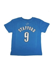 Matthew Stafford Detroit Lions Boys Blue Boys 4-7 Matthew Stafford Short Sleeve T-Shirt