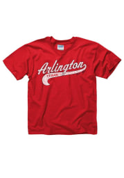 Arlington Youth Red City Tailsweep Short Sleeve T Shirt