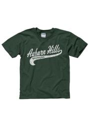 Auburn Hills Youth Green City Tailsweep Short Sleeve T Shirt