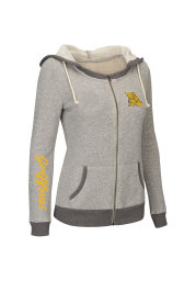 Colosseum Missouri Western Griffons Juniors Grey Sundance Long Sleeve Full Zip Jacket