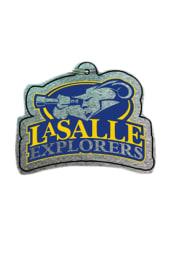 La Salle Explorers Laser Cut Keychain
