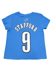 Matthew Stafford Detroit Lions Youth Blue Player Player Tee