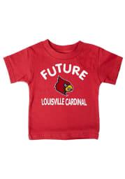 Louisville Cardinals Infant Future Short Sleeve T-Shirt Red