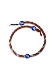 Kentucky Wildcats Spiral Football Mens Necklace