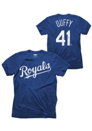 Danny Duffy Kansas City Royals Blue Danny Duffy Tri-Blend Fashion Player Tee