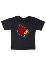Louisville Cardinals Infant Logo Short Sleeve T-Shirt Black