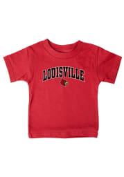 Louisville Cardinals Infant Arch Short Sleeve T-Shirt Red