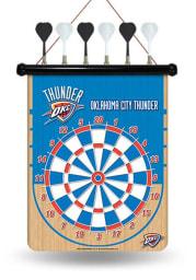 Oklahoma City Thunder Magnetic Dartboard Game