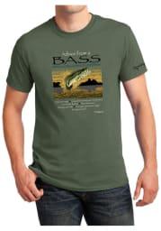 Springfield Military Green Advice From A Bass Short Sleeve T-Shirt