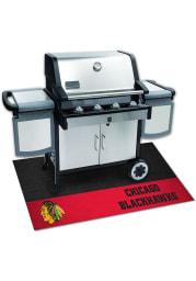 Chicago Blackhawks 26x42 BBQ Grill Mat