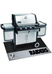 Las Vegas Raiders 26x42 BBQ Grill Mat