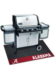 Alabama Crimson Tide 26x42 BBQ Grill Mat