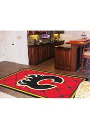 Calgary Flames Team Logo Interior Rug