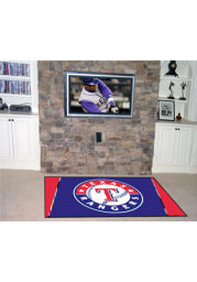 Texas Rangers Team Logo Interior Rug