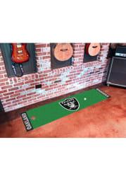 Las Vegas Raiders 18x72 Putting Green Runner Interior Rug