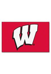 Wisconsin Badgers 60x96 Ultimat Interior Rug