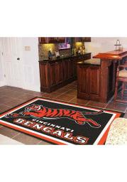 Cincinnati Bengals 5x8 Interior Rug