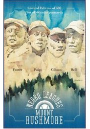 Kansas City Monarchs Mount Rushmore Set Collectible Baseball Cards