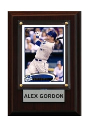 Alex Gordon Kansas City Royals 4x6in Alex Gordon Player Plaque