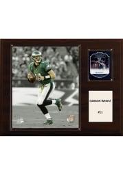 Carson Wentz Philadelphia Eagles 12x15 Pgoto Plaque