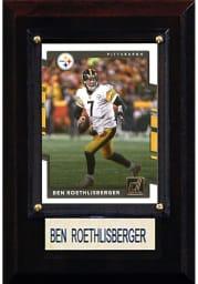 Ben Roethlisberger Pittsburgh Steelers 4x6 Player Plaque