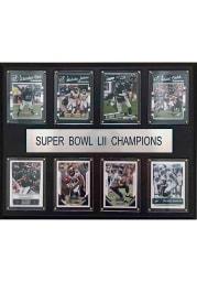 Philadelphia Eagles Super Bowl 52 Champions 12x15 inch Plaque