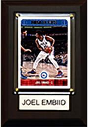 Joel Embiid Philadelphia 76ers 4x6 Player Plaque