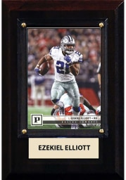 Ezekiel Elliott Dallas Cowboys 4x6 inch Player Plaque