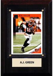 AJ Green Cincinnati Bengals 4x6 inch Player Plaque