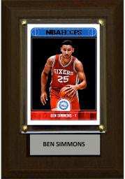Ben Simmons Philadelphia 76ers 4x6 Player Plaque