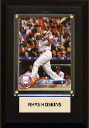 Rhys Hoskins Philadelphia Phillies 4x6 inch Plaque