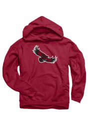 Saint Josephs Hawks Kids Cardinal Mascot Long Sleeve Hoodie