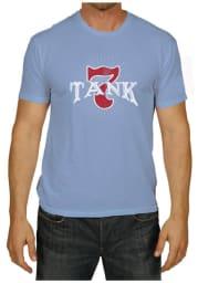 Original Retro Brand Boulevard Light Blue Tank 7 Short Sleeve T Shirt