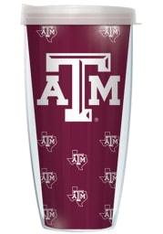 Texas A&M Aggies Repeating Team Logo Tumbler