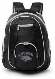 Nevada Wolf Pack Black 19 Laptop Grey Trim Backpack