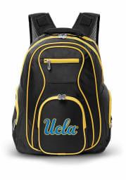 UCLA Bruins Black 19 Laptop Grey Trim Backpack