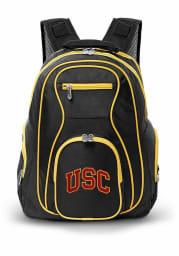 USC Trojans Black 19 Laptop Yellow Trim Backpack