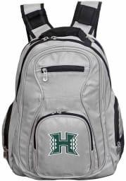 Hawaii Warriors Grey 19 Laptop Backpack